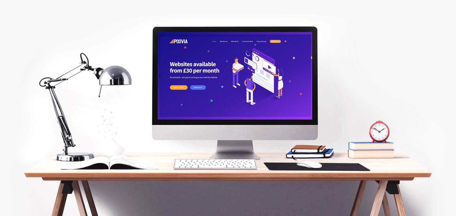 Pixivia Web Design Agency